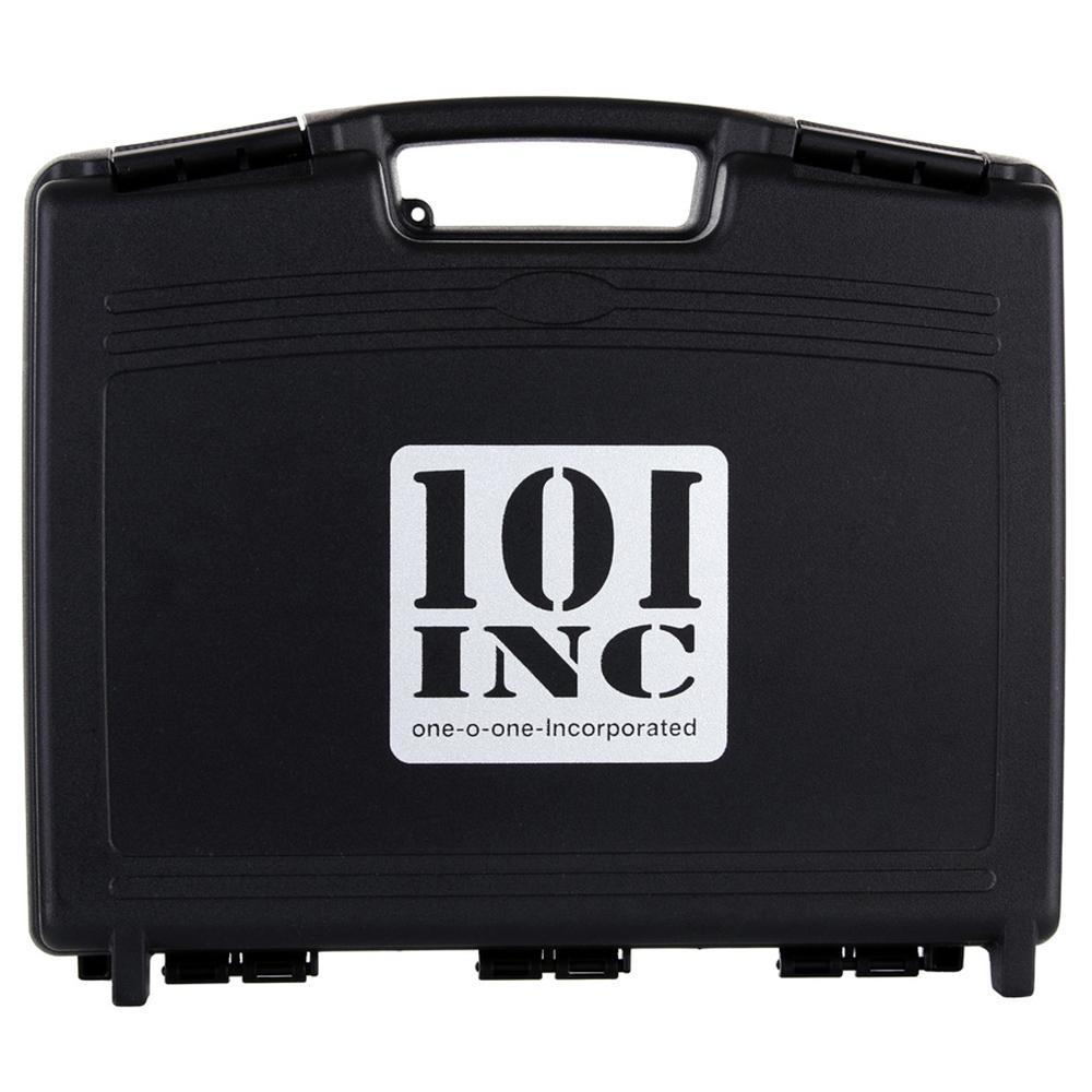 101 Inc. Pistolenkoffer mit Profilschaumstoff schwarz
