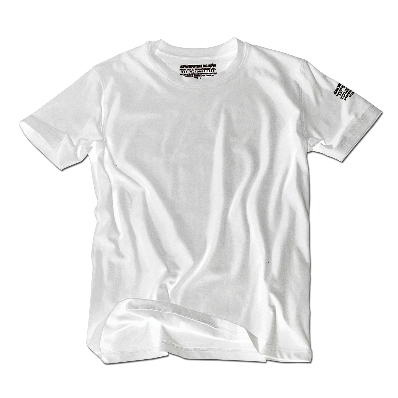 T-Shirt Alpha Industries Bodywear weiss