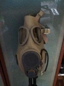 Maske mit Waffe