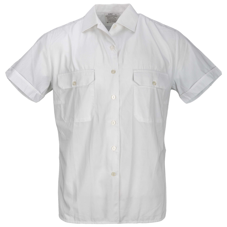BW Diensthemd Kurzarm weiß gebraucht