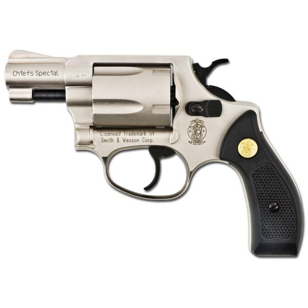 Revolver SW Chiefs Special vernickelt