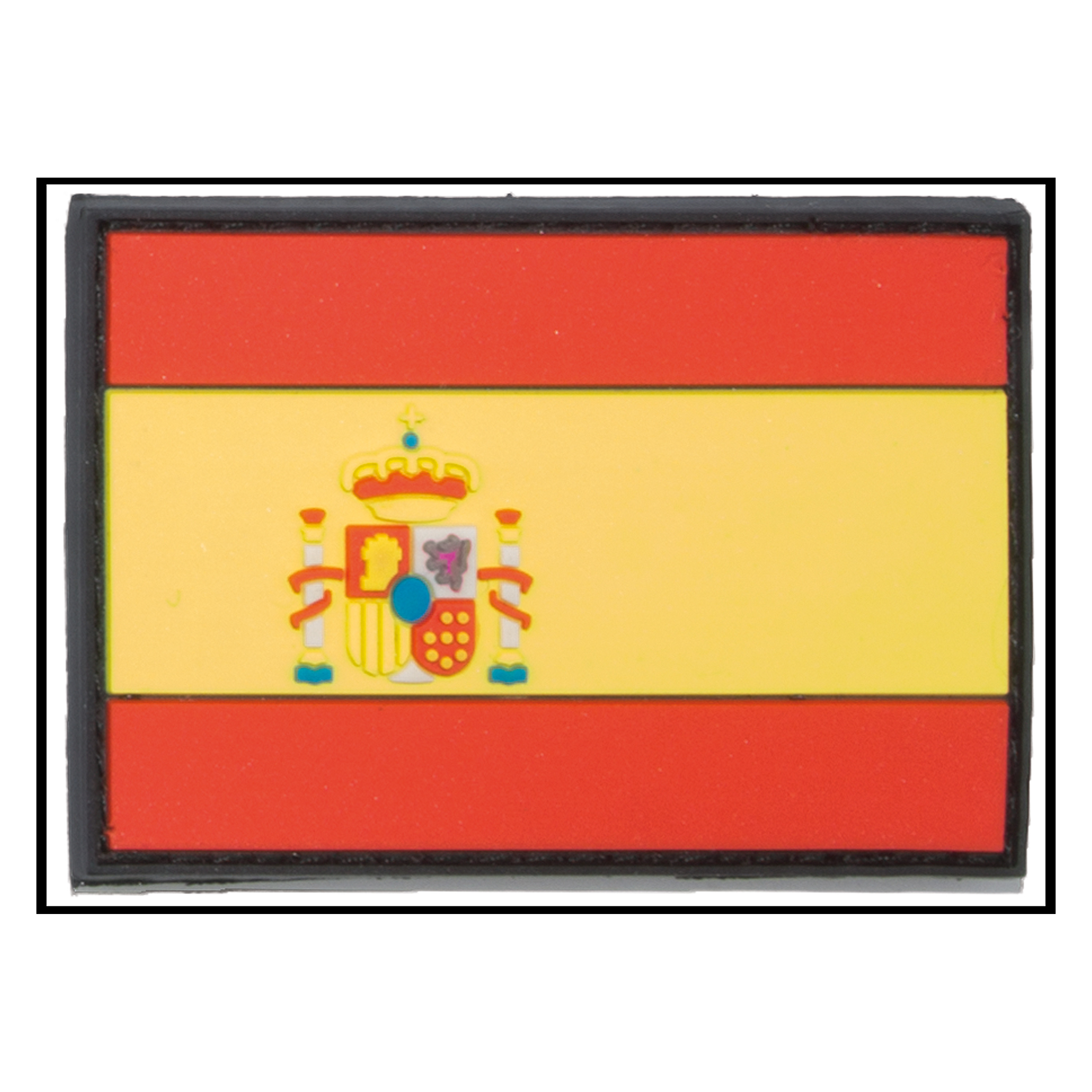 3D-Patch Flagge Spanien klein