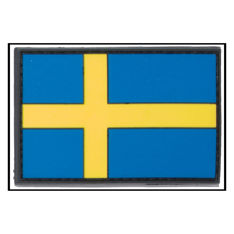 3D-Patch Flagge Schweden
