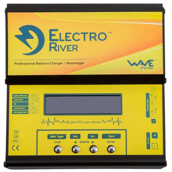 Electro River Ladegerät Multiprocessor Wave Charger