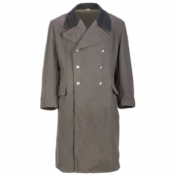 NVA Uniformmantel Tuch Soldat braun gebraucht