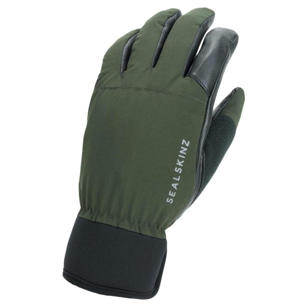 Sealskinz Handschuhe Waterproof All Weather Hunting oliv schwarz