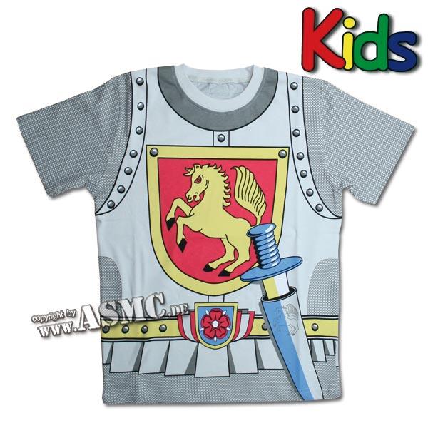Kinder T-Shirt Ritter