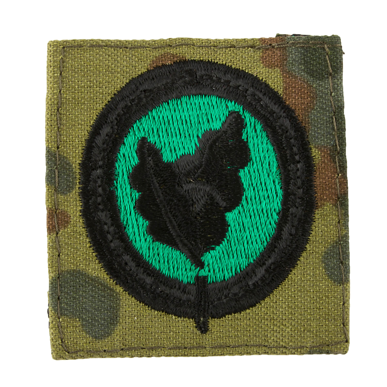 Abzeichen Bw Einzelkämpfer II flecktarn/grün