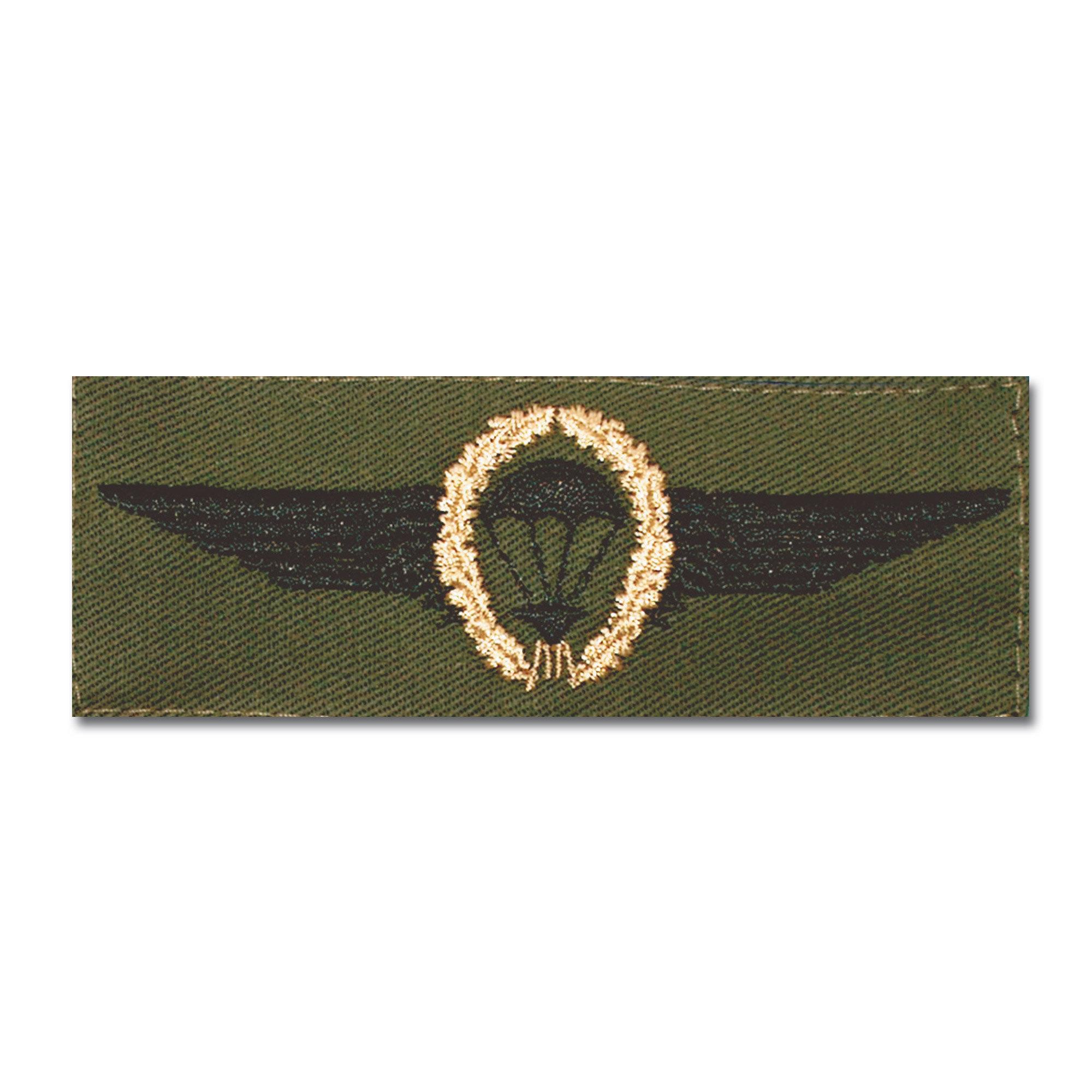 Abz. BW Fallschirmspringer bronze/oliv