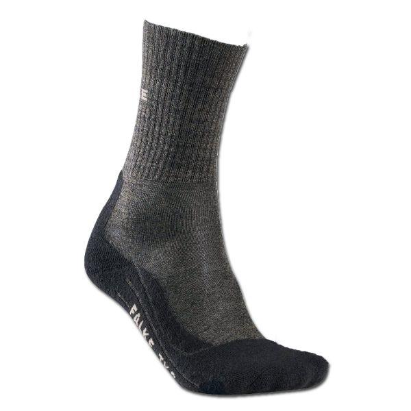Socken Men Falke TK2 Wool anthrazit
