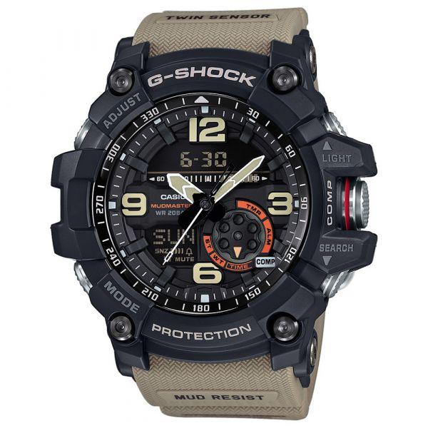 Casio Uhr G-Shock Mudmaster GG-1000-1A5ER schwarz tan
