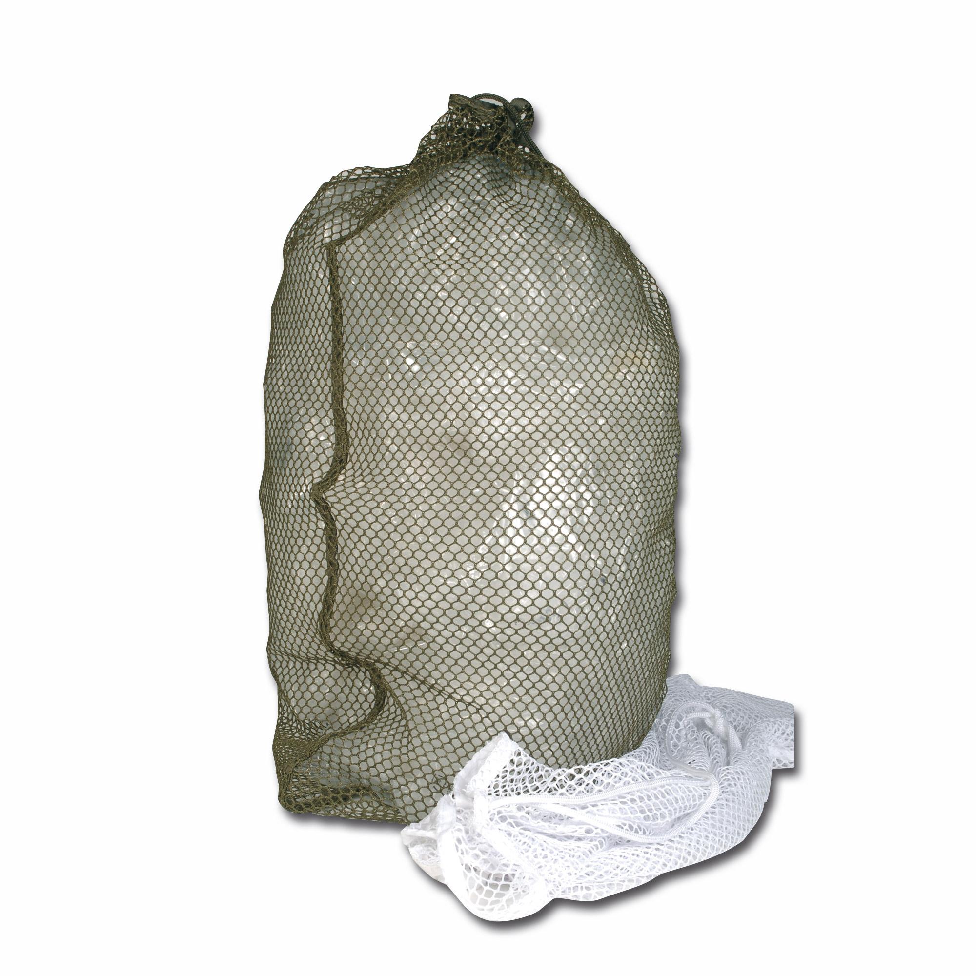 Wäschesack Netz oliv