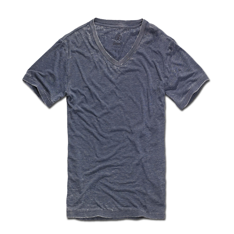 T-Shirt Brandit Dexter blau