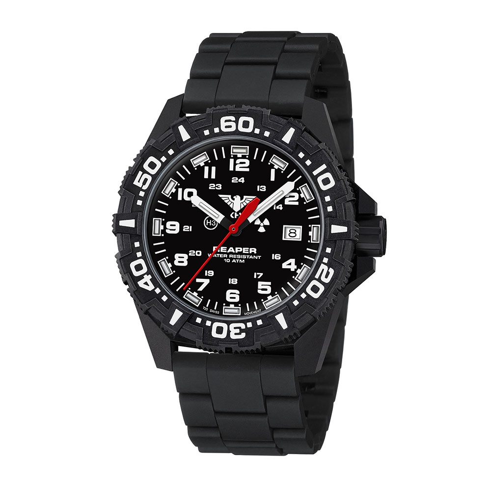 KHS Uhr Reaper MK II Field Neocarb schwarz