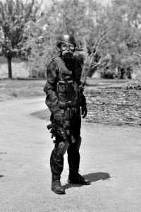 Combinaison SWAT noir