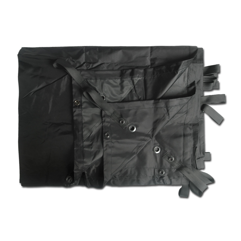 Mehrzweckplane Basha Lightweight schwarz