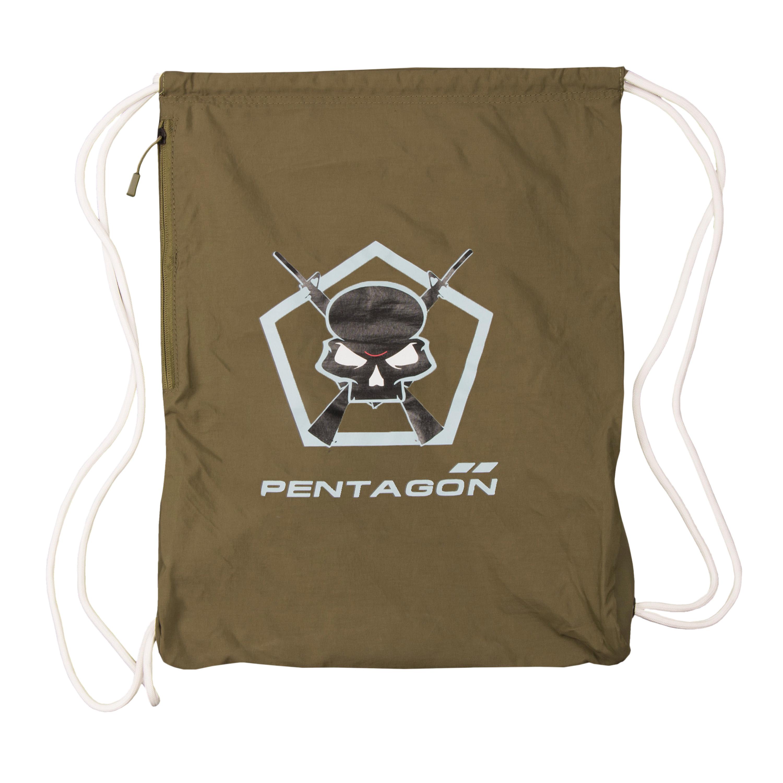 Pentagon Sportbeutel Moho Gym Bag Skull oliv