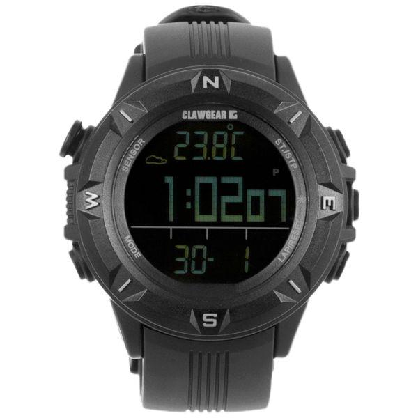 ClawGear Uhr Mission Sensor II schwarz