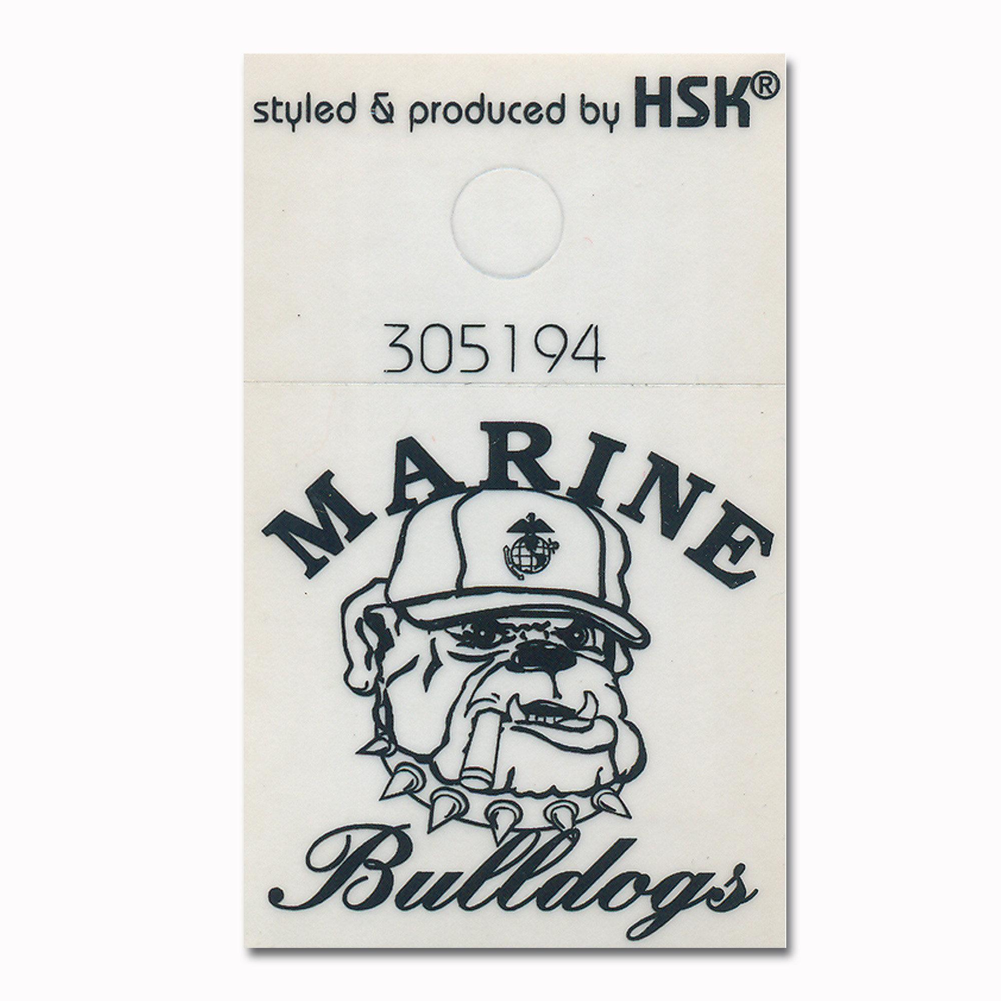 Aufkleber Marine Bulldogs