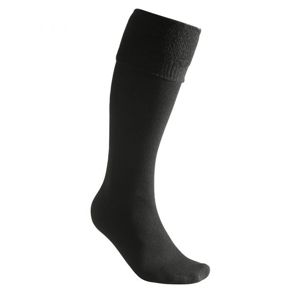 Woolpower Socken Knee-High 400 schwarz