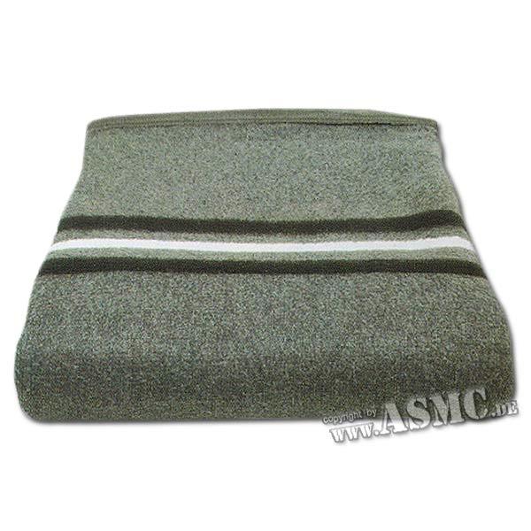 Wolldecke NVA grau neuwertig