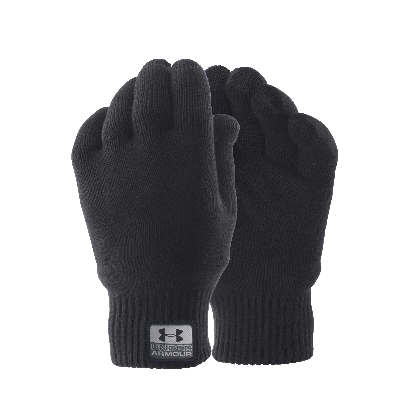 Under Armour Handschuhe Fuse Knit schwarz