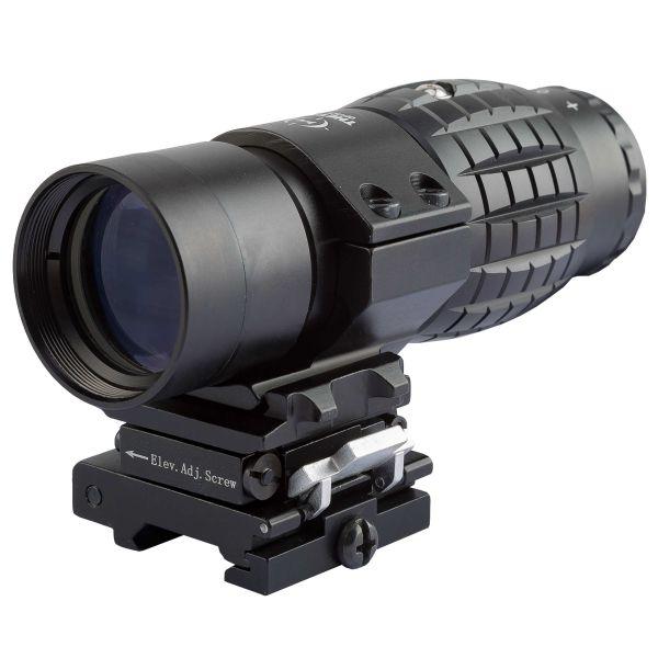 THO Zieloptik 3x35 V2 Flip-to-Side Magnifier schwarz