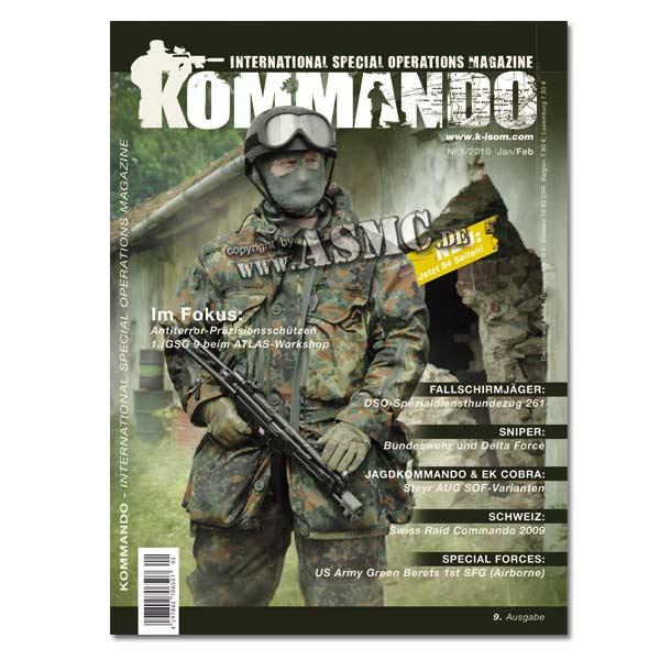 Kommando Magazin K-ISOM Ausgabe: 09