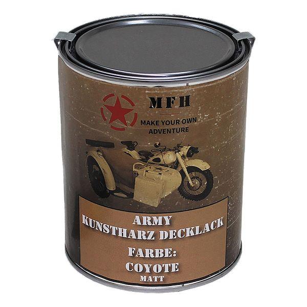 Farbdose Army matt coyote 1 L
