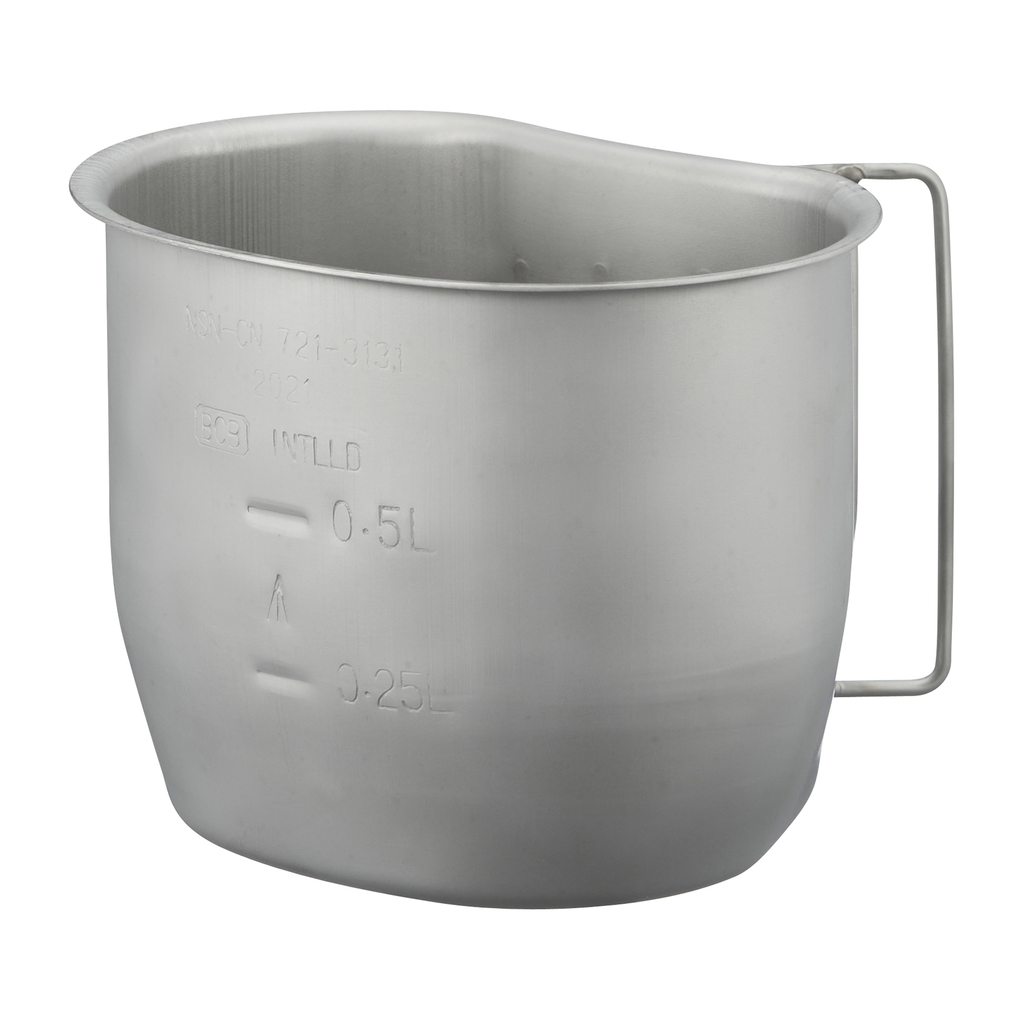 BCB Campingbecher Crusader Cup Canteen silber