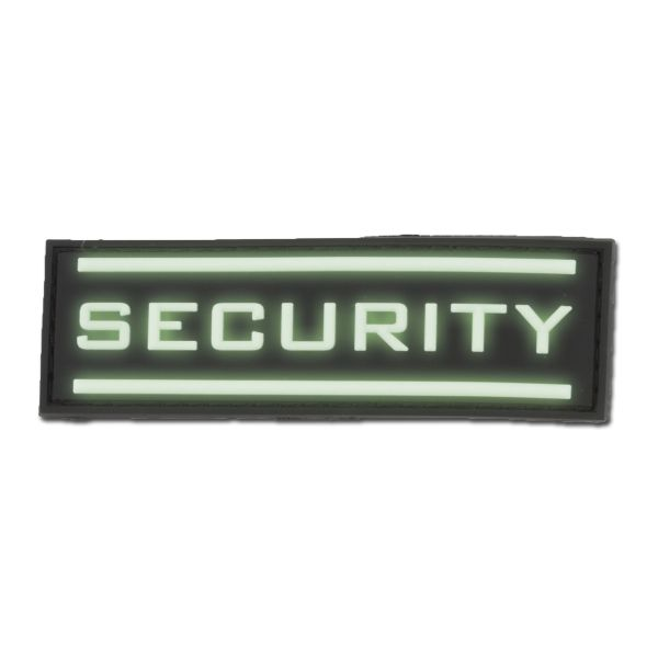 3D-Patch Security nachleuchtend