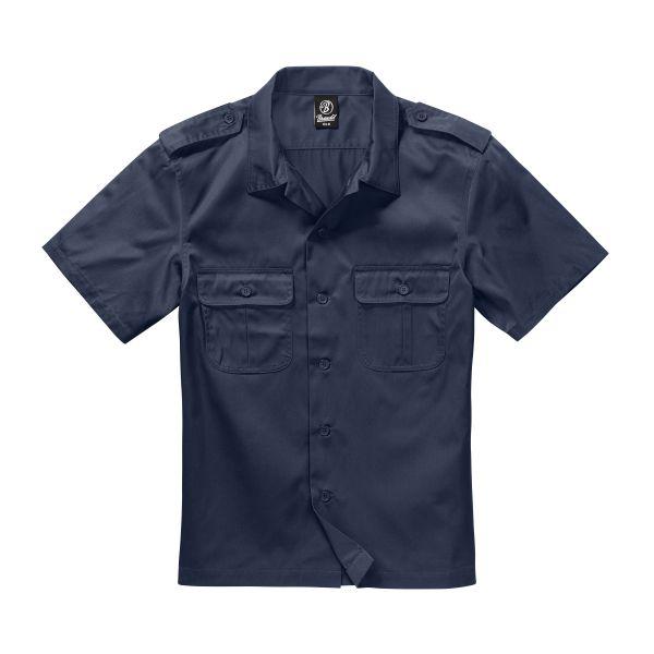 Brandit Shirt US halbarm navy