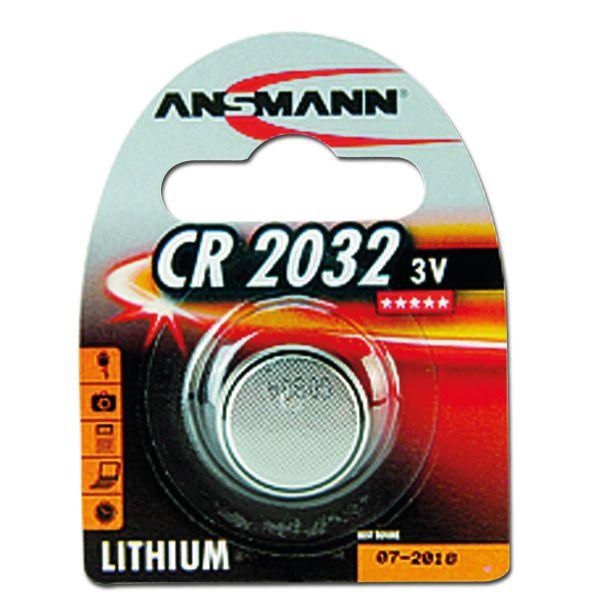 Lithium Knopfzelle Ansmann CR2032