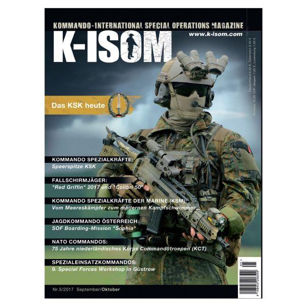 Kommando Magazin K-ISOM Ausgabe 05-2017