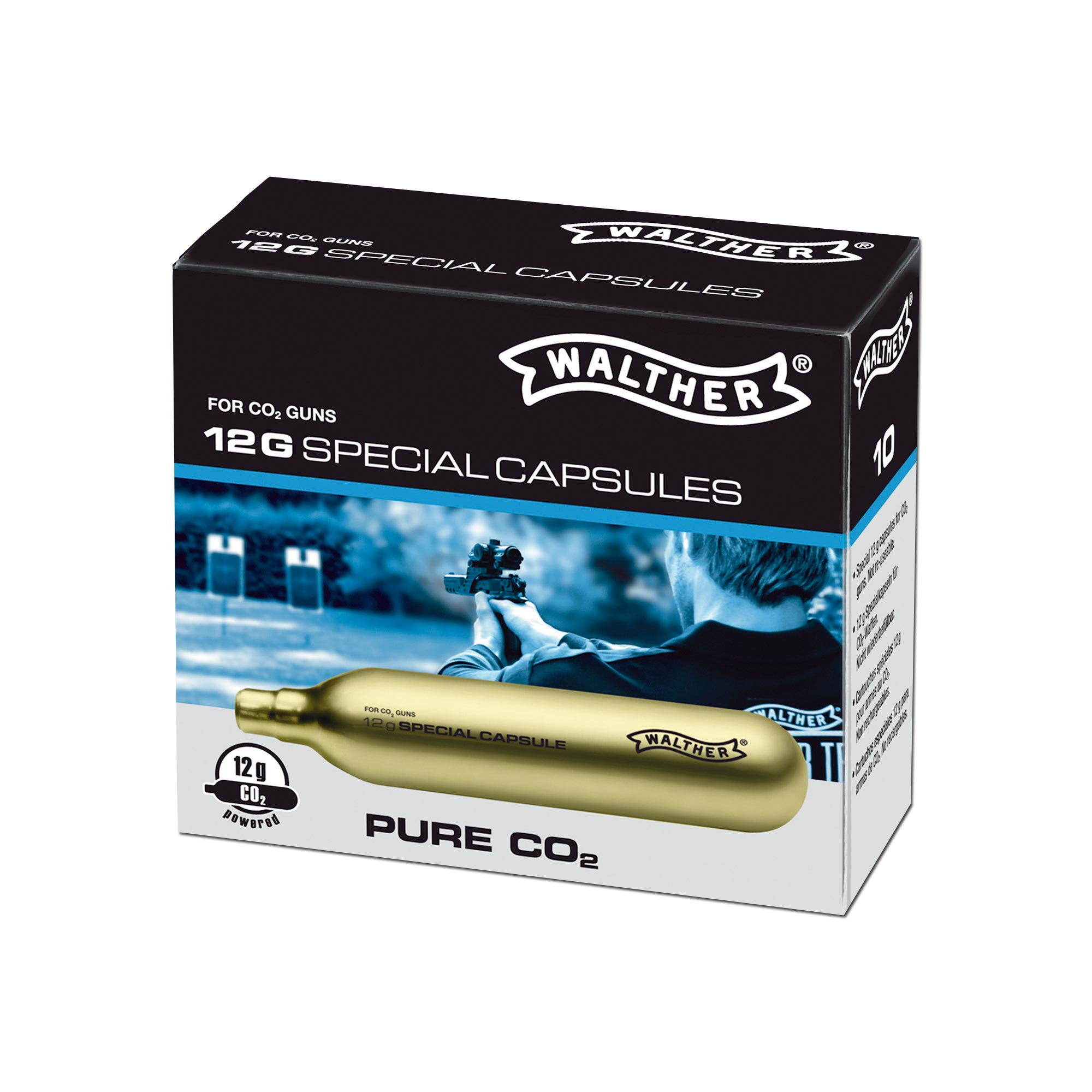 CO2-Kapseln Walther 10-er Pack
