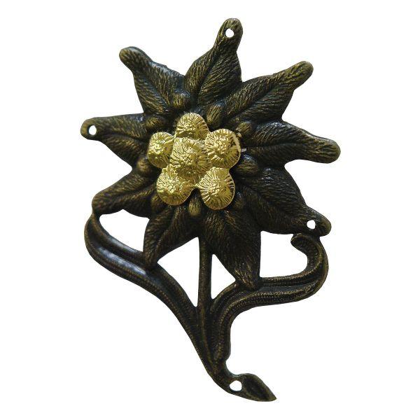 Edelweiss Metall mit Splinten