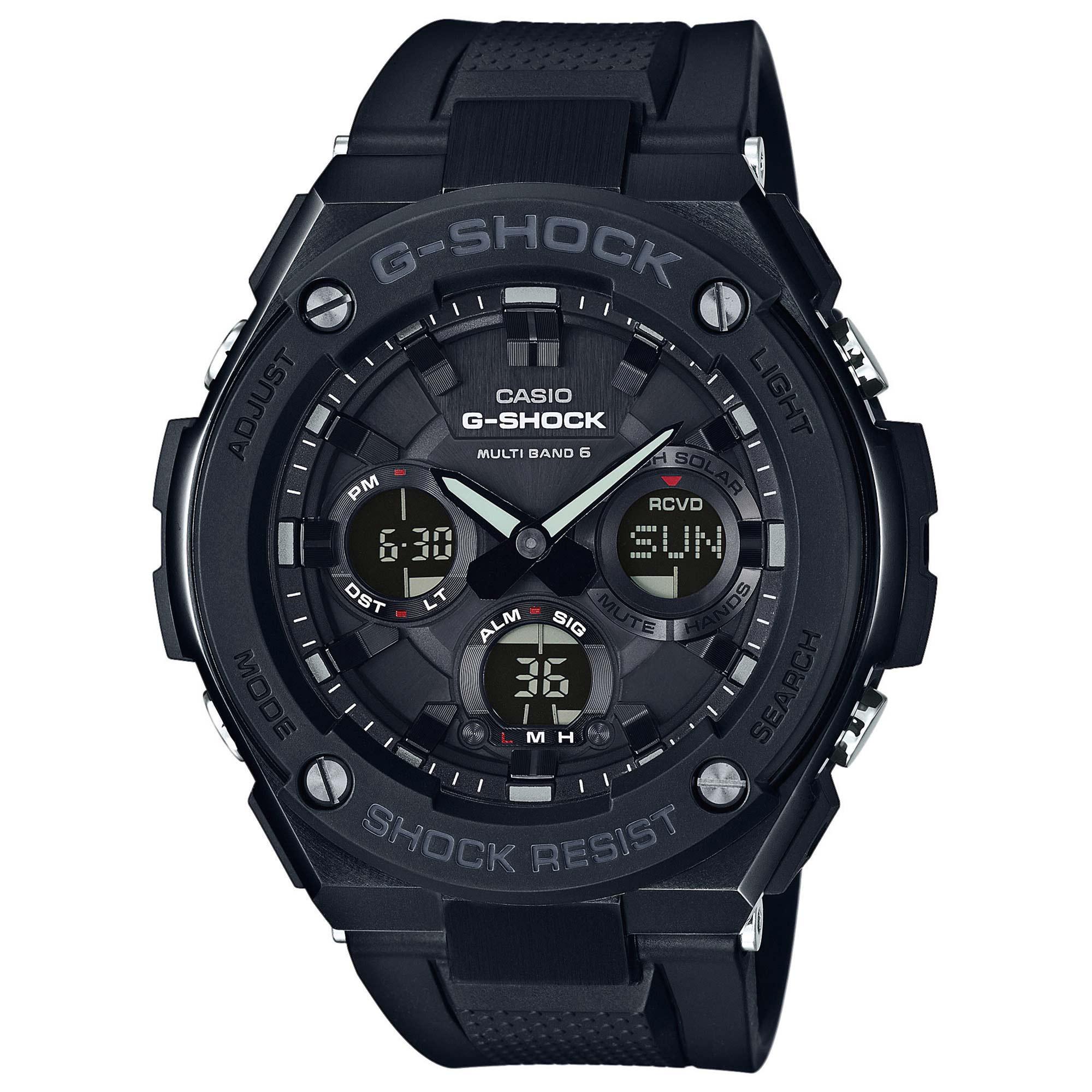 Casio Uhr G-Shock G-Steel GST-W100G-1BER schwarz