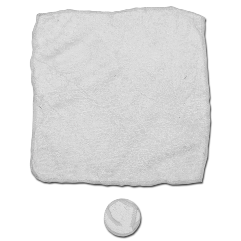 Microfasertuch weiß 5 Stück