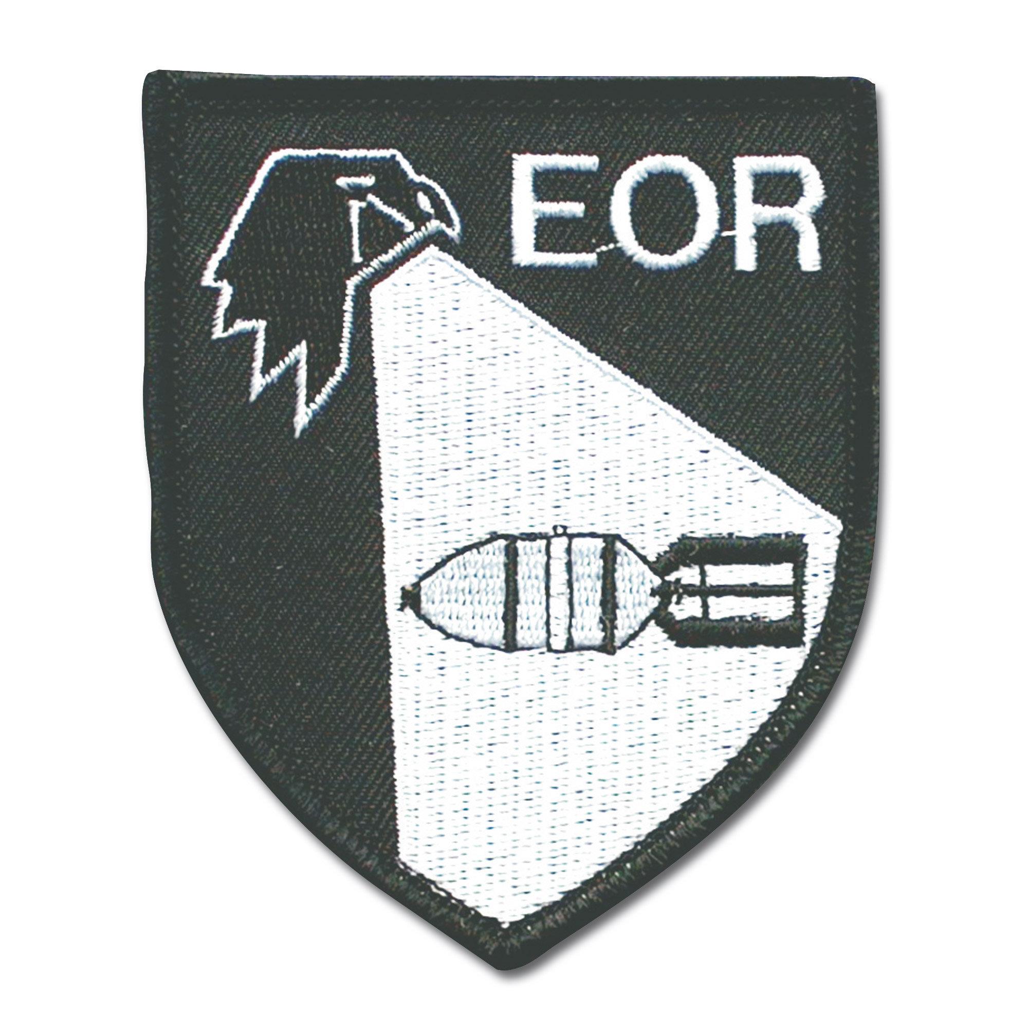 Abzeichen Textil Kampfmittelerkunder EOR
