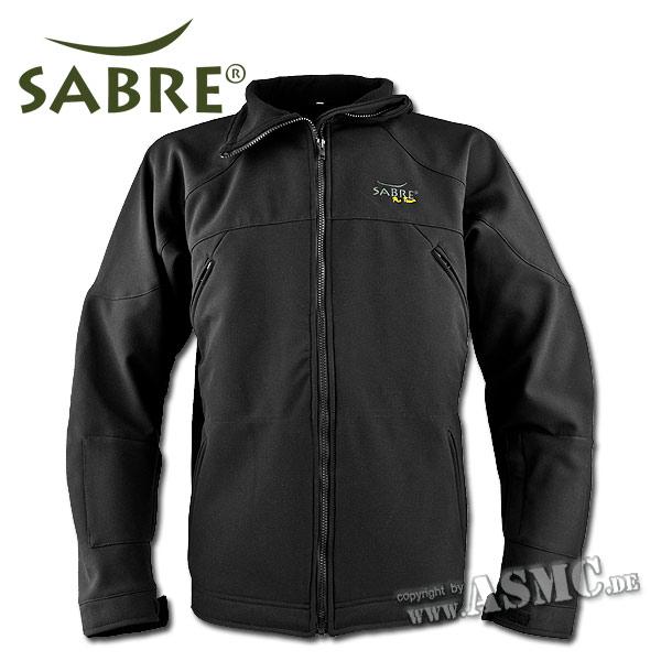 Softshell-Jacke Sabre Pro Team schwarz