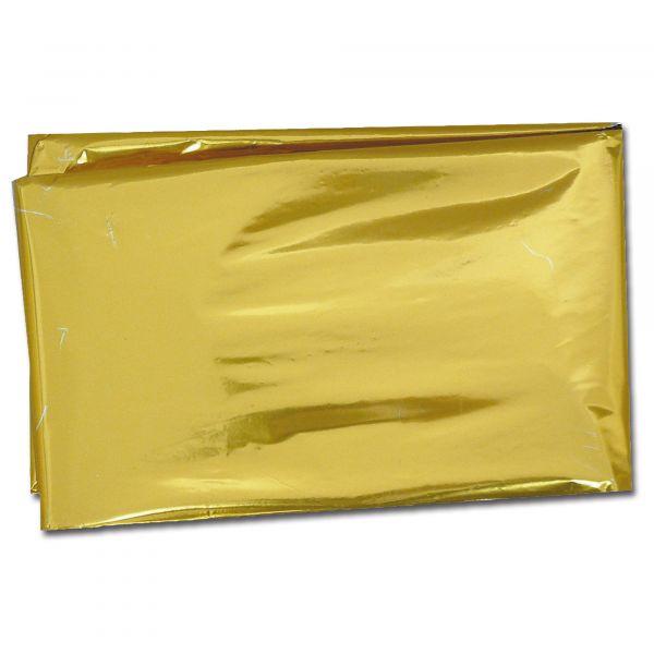 Rettungsdecke silber/gold