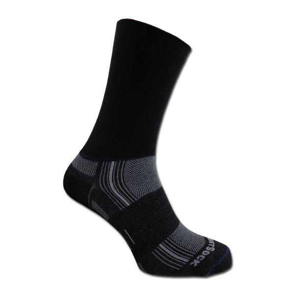 Socken Wrightsock Silver Stride doppel-lagig schwarz