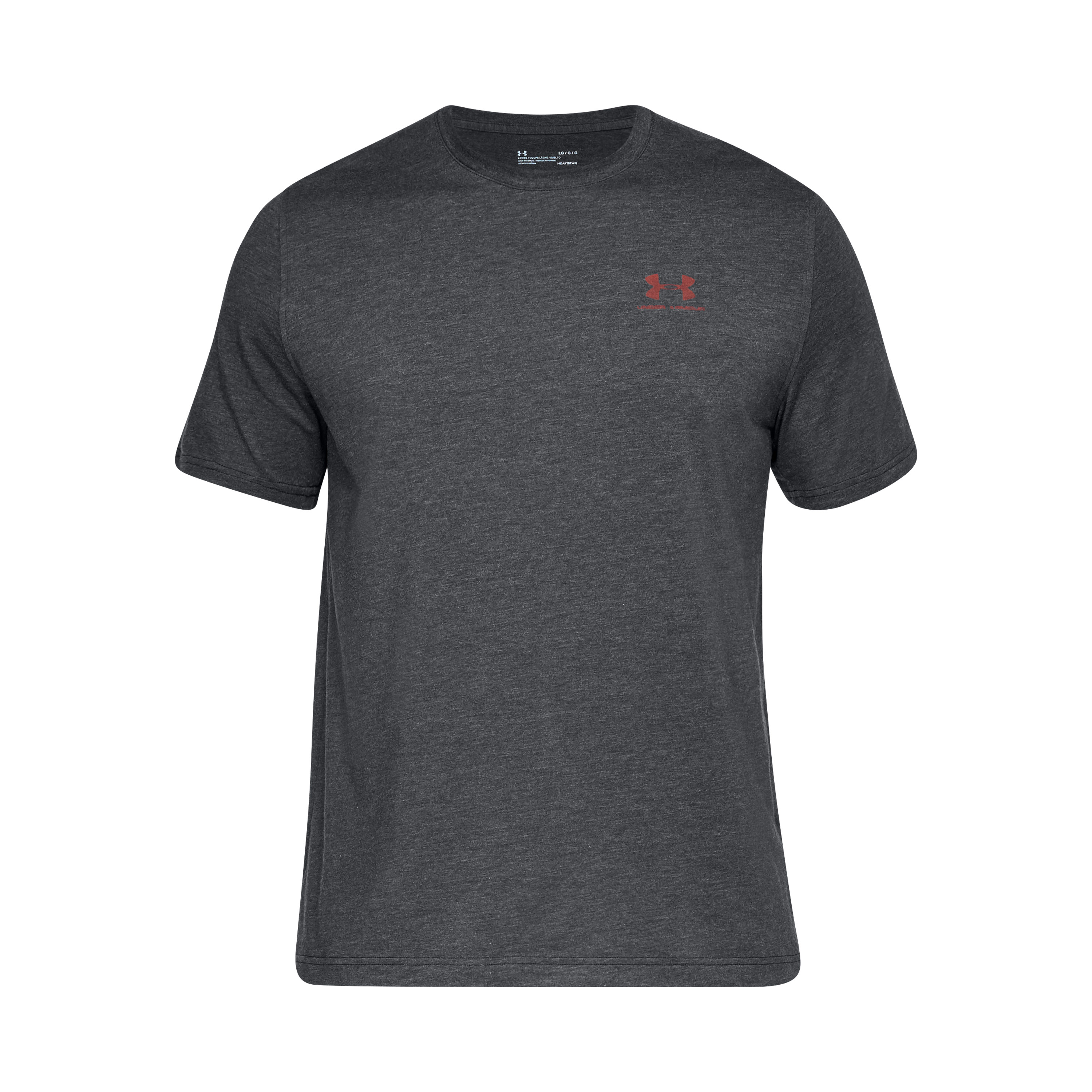 Under Armour Shirt CC Sportstyle schwarz rot