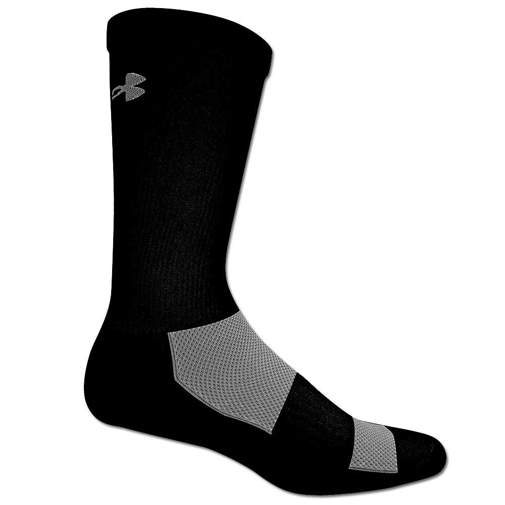 Under Armour Socken 2-A-Day Crew Sock schwarz