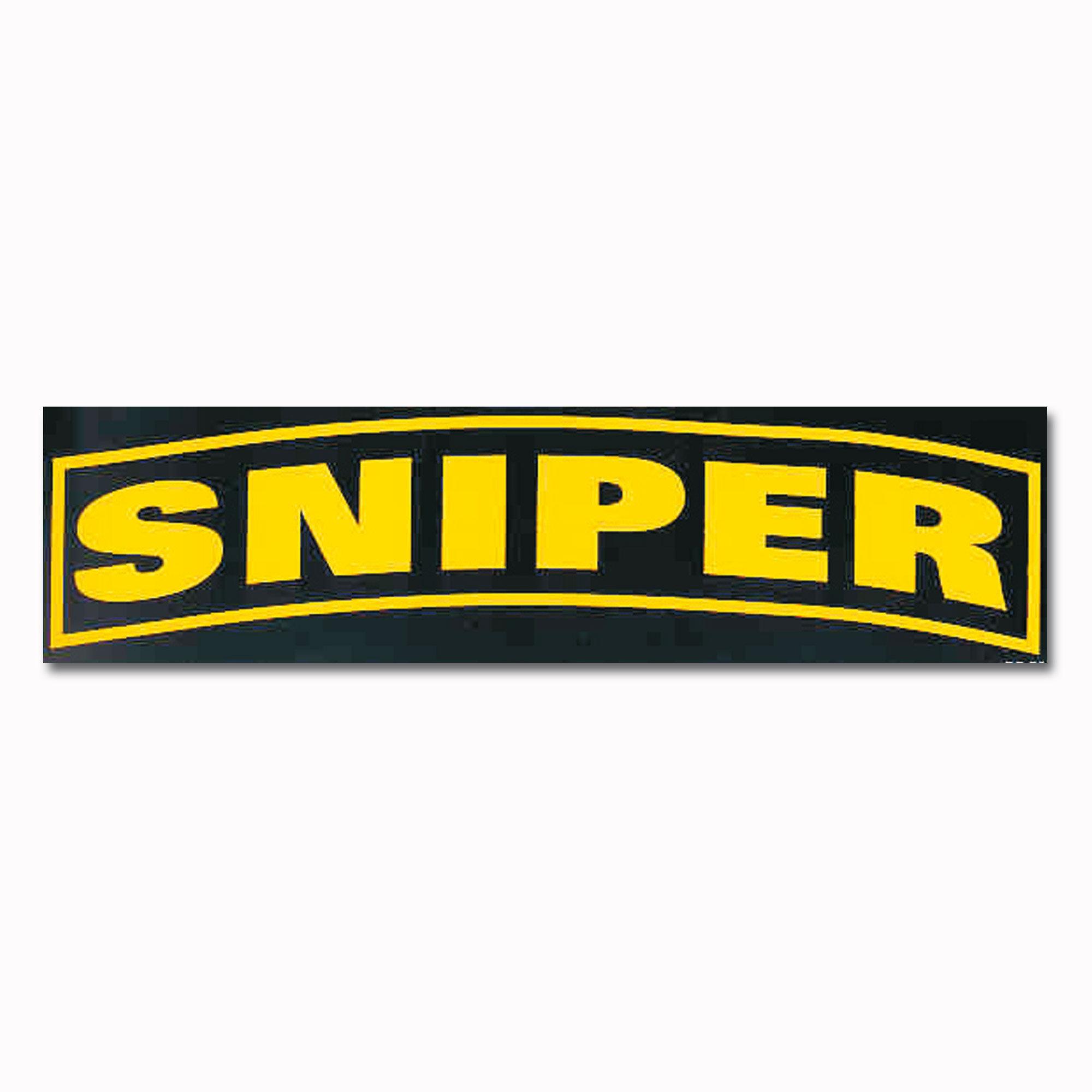 Bumper Sticker SNIPER