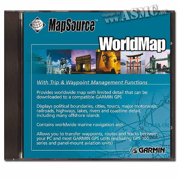 Topo World Map