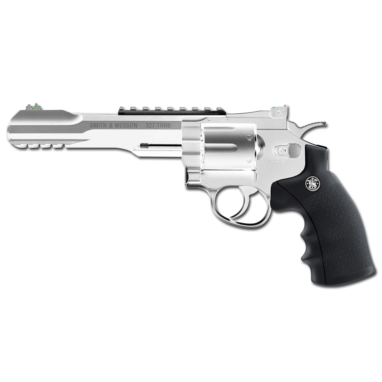 Revolver Smith Wesson 327 TRR8 vernickelt