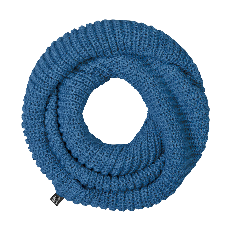 Brandit Schlauchschal Strick blau
