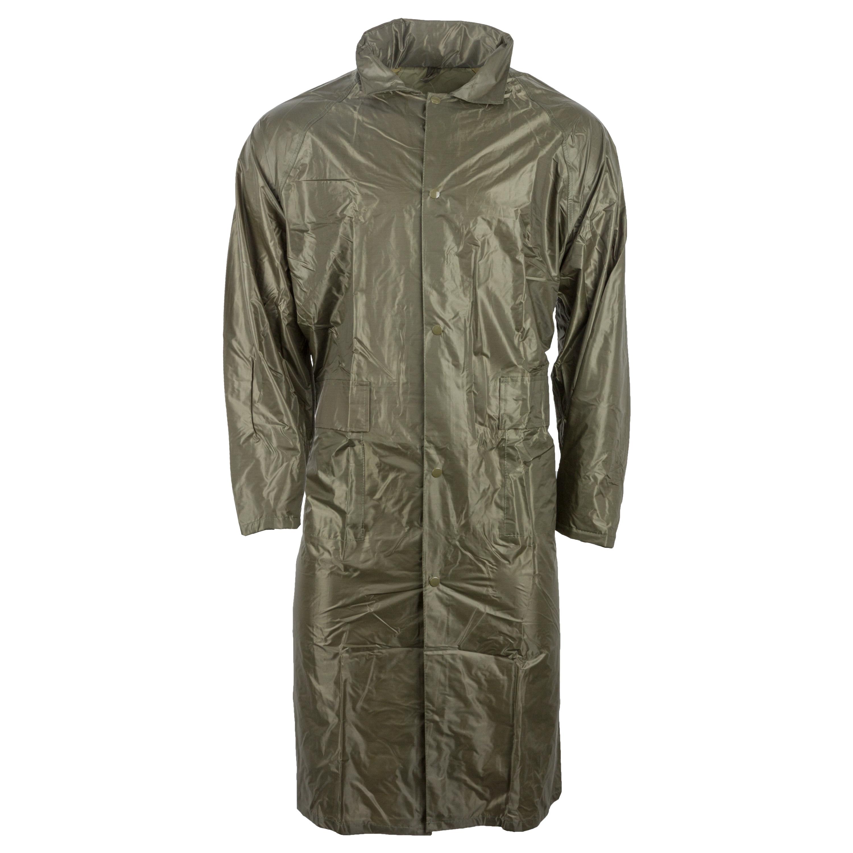 Regenmantel Polyester oliv