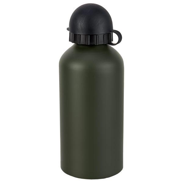 Trinkflasche Alu oliv 0,5 Liter